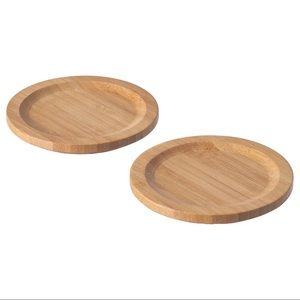 Drinks Coaster, bamboo pack of 4
